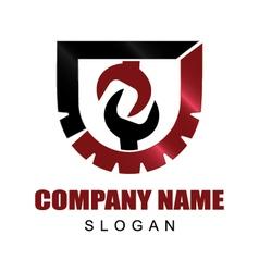 tools company logo vector image
