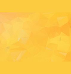 yellow orange abstract polygonal mosaic vector image