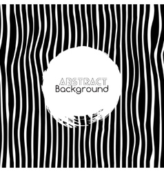 Seamless black and white stripes background vector image vector image