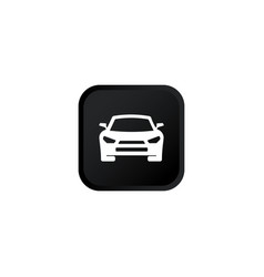 Car icon modern button for web or appstore design vector