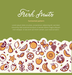 gift card with a place for lettering with vector image