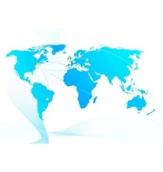 Global trade relations vector