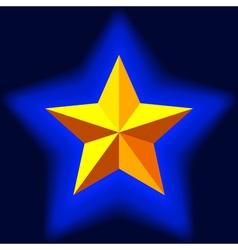 Pentagram vector