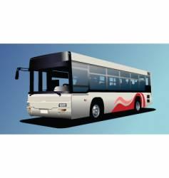Town bus vector