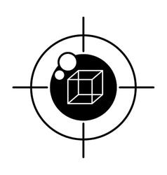 Vr eye tracking innovation technologies outline vector