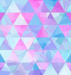 Seamless geometric retro background vector image vector image