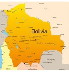 Bolivia vector image