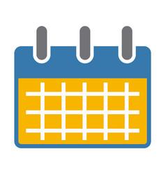 calemdar schedule symbol vector image