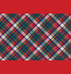 celtic check pixel plaid seamless pattern vector image