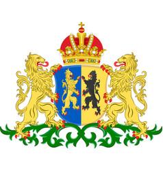 coat of arms of gelderland netherlands vector image
