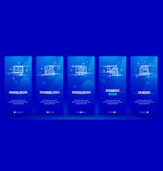 Graphic design designers tools website design vector