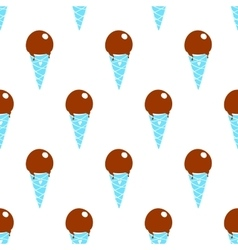 Ice-cream Pattern Colored-31 vector