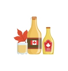 Maple Syrup As A National Canadian Culture Symbol vector