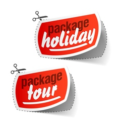 package holiday vector image