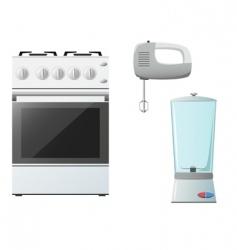 Set kitchenware vector