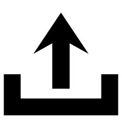 Upload Flat Icon vector