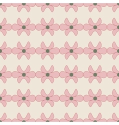 Flower pink seamless pattern vector image vector image