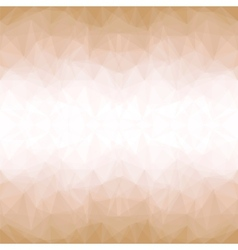 Golden Mosaic Background vector image vector image