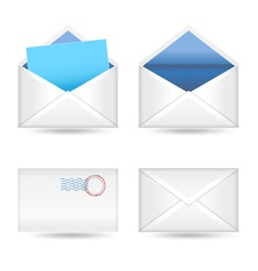 mails set vector image vector image