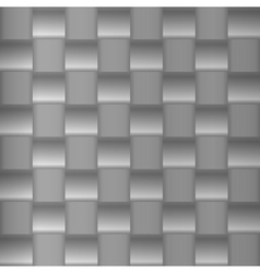 Brushed metal geometric pattern vector image