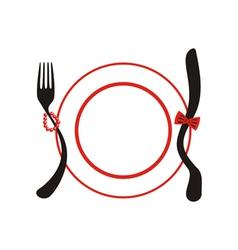 Holiday menu vector image vector image