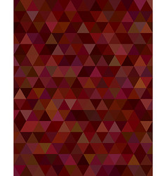 Abstract triangle tile mosaic background design vector