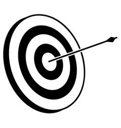 Archery bow and arrow vector