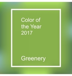 Color of the year 2017 vector