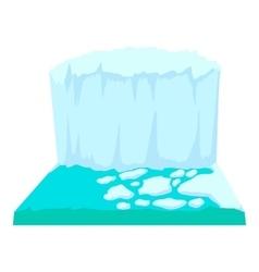 Iceberg icon cartoon style vector image