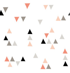 minimalistic seamless geometric pattern vector image
