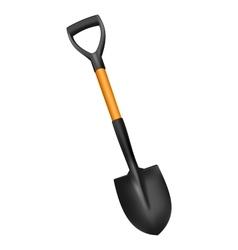 Photorealistic fiberglass shovel vector