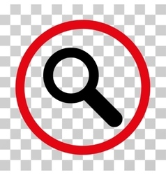 Search Rounded Icon vector