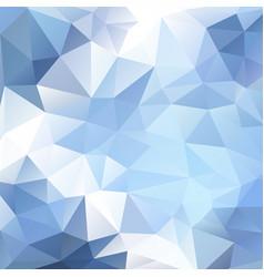 light blue polygonal background vector image