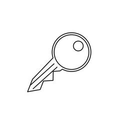A key icon for open all doors vector