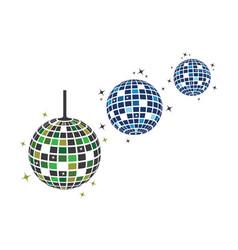 Disco ball icon design vector