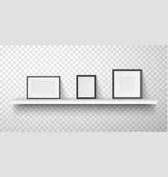 frames passepartout for photo picture with white vector image
