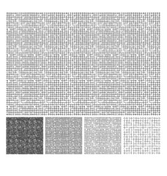 pattern of rough hatching grunge texture vector image
