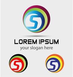 Sign letter S Letter S logo vector