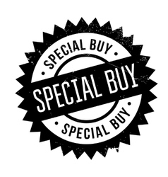Special buy stamp vector image