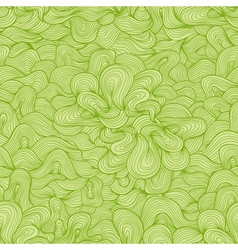 Abstract seamless pattern Nice green colors vector image