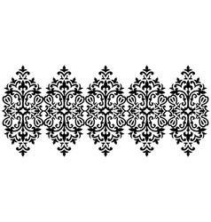 Antique ottoman turkish pattern design sixty five vector image