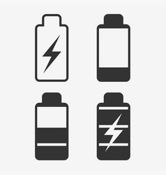 Battery energy cell phone vector