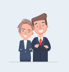 Business people character design vector
