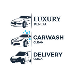 Car services logo vector