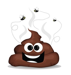 Cartoon poop vector