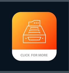 files accounting accounts data database inbox vector image