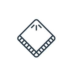 Handkerchief icon handkerchief editable stroke vector