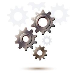 machine gear wheel cogwheel icon vector image