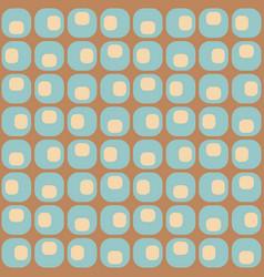 Midcentury geometric retro design timeless vector