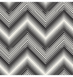 ornate textured chevron vector image